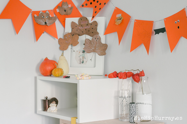 A little Corner at home for Halloween by Hip Hip Hurray